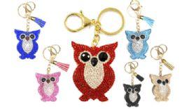 120 of Rhinestone Keychain Owl