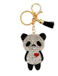 72 of Rhinestone Keychain Panda