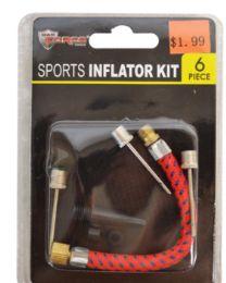 60 of Sports Inflator Kit 6 Piece