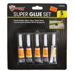 60 of Super Glue 5 Piece