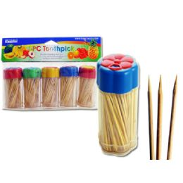 1440 of 5pc Toothpicks With Dispensers