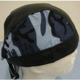 72 of LeatheR-Like Skull CaP-Blue Camo