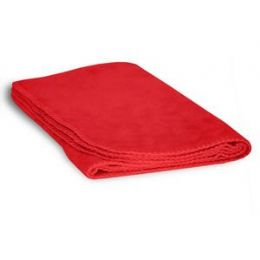 48 of Fleece Baby/lap Blanket - Red