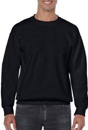 36 of Gildan Slightly Irregular Crew Neck Sweat Shirt Assorted Sizes