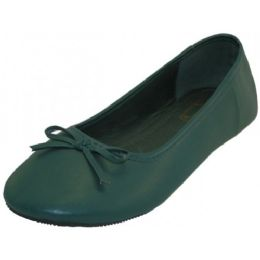 18 of Women's Ballet Flats ( Dark Green Color Only)