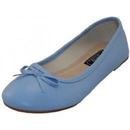 18 of Women's Ballet Flats Light Blue Color Only