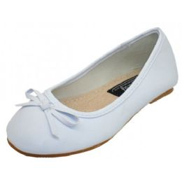 18 of Women's Ballet Flats White Color Only