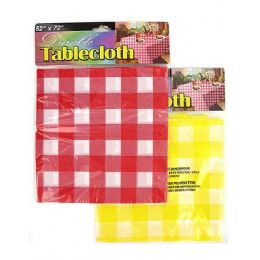 72 of Durable Plastic Tablecloth