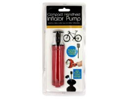 72 of 4.5'' Hand Air Pump W/ Inflator Needle