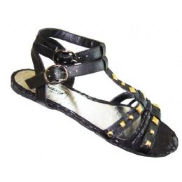 18 of Ladies' Studded Gladiator Size: 6-11