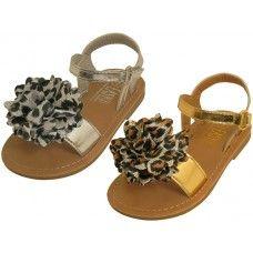 24 of Infant's Metallic Sandals