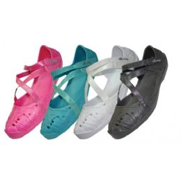 36 of Girls' CrisS-Cross Solid Color Shoes