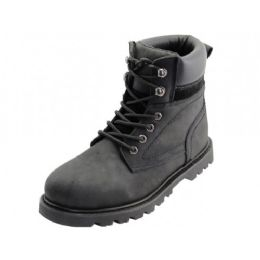 "12 of Men's ""himalayans"" 6 Inches Nubuck Insulated Leather Upper With Steel Toe Work Boots ("
