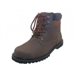 "12 of Men's ""himalayans"" 6 Inches Nubuck Insulated Leather Upper With Steel Toe Work Boots"