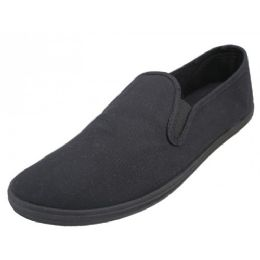 24 of Men's Twin Gore Shoes Black Only