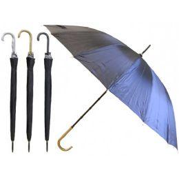 60 of 48'' Diameter 16 Ribs Auto Open Jumbo Umbrella