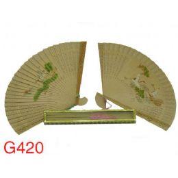 240 of Fragrant Sandalwood Fans (design On Both Sides)