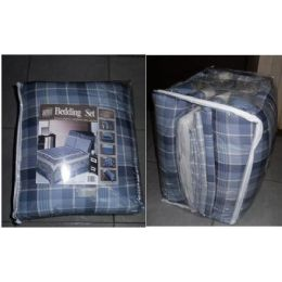 8 of 8 Piece Bedding In A Bag Set -Full