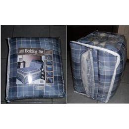 8 of 8 Piece Bedding In A Bag Set - Queen