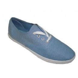 24 of Ladies' Chambray Lace Up 7-12