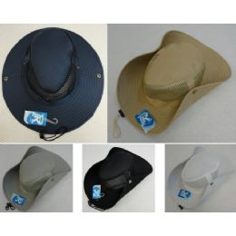 24 of Mesh Boonie Hat-Solid Color