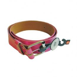 96 of Women Belt Pink Assorted Size
