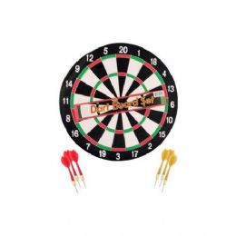 12 of 14'' Dartboard W/ 6 Darts