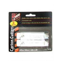72 of 2 Pack Carton Cutters