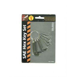 72 of 8 Pack Sae Hexagonal Key Set