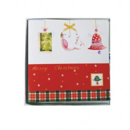 120 of 10 Pc Xmas Cards Pvc Box Assorted Designs