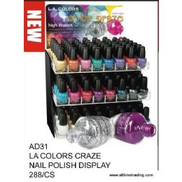 288 of La Color Craze Nail Polish With Display