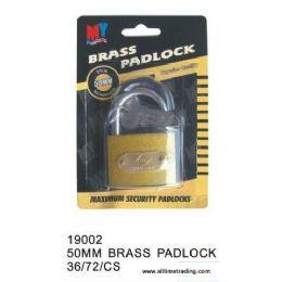 72 of Brass Padlock
