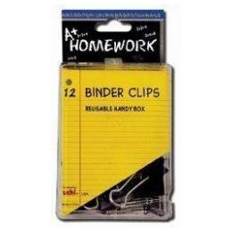 48 of Binder Clips - 12 Pk - 3/4 - Plastic Boxed