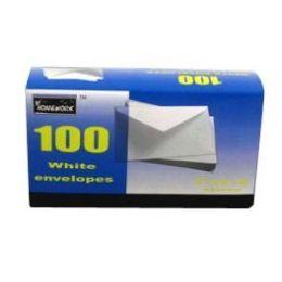 24 of Boxed White Envelopes - #6 3/4 - 100 Count