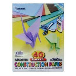 36 of Construction Paper Pack - 40 Sh - 12 X 9 - Asst. Cls.