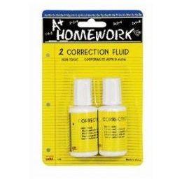 48 of Correction Fluid - White - 2 Pack - .7 Oz Each