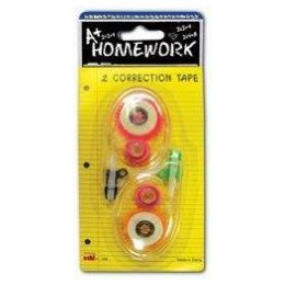 48 of Correction Tape - 2 Pack - 5mm X 6m Each