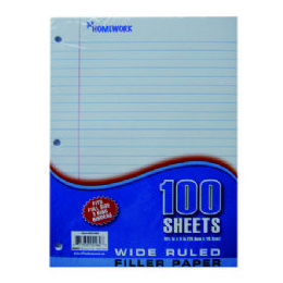 36 of Filler Paper - 100 Sh - 10.5 X 8 wr