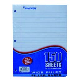 24 of Filler Paper - 150 Sh - 10.5 X 8 - wr
