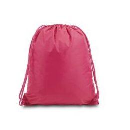 60 of Drawstring Backpack - Hot Pink
