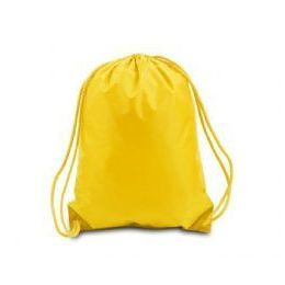 60 of Drawstring Backpack - Golden Yellow