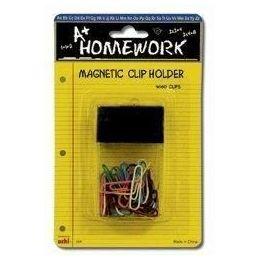 48 of Paper Clips + Magnetic Desk Holder - 60ct.-1.25 Vinyl