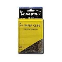 144 of Paper Clips - 300ct.- 1.25 - Silver Metal - Boxed