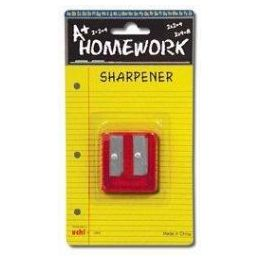 48 of Sharpener - Pencil - Duel Metal Blades - 2 Hole