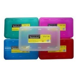 24 of Storage Plastic Box - 8 X 4.5 X 2 Inches