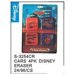 48 of Cars 4pack Eraser