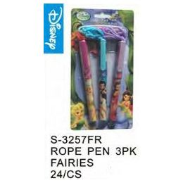 96 of Fairies Pens On A Rope 3 Pack