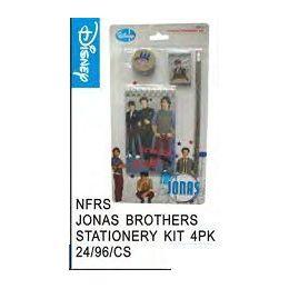 96 of Jonas Bros Stationery Kit 4 Pack