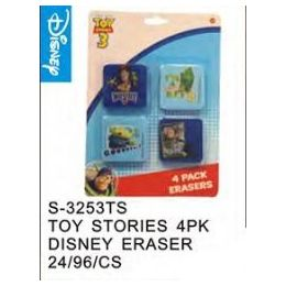 48 of Toy Story 4pack Eraser