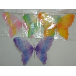 """144 of 12""""x9"""" Sheer Butterfly"""
